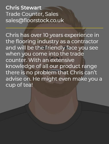 Chris Stewart Trade Counter Sales