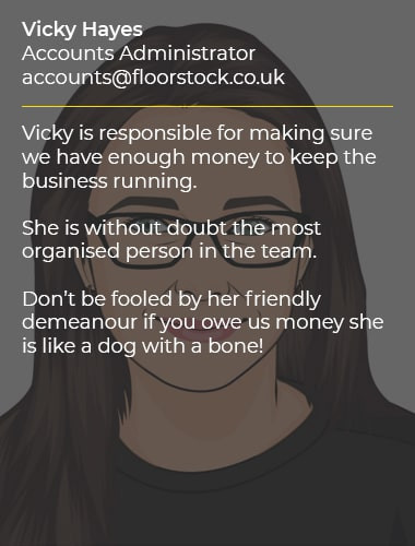Vicky Hayes Accounts Administrator