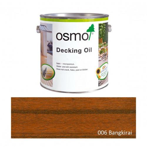 0.125ltr: Osmo - Decking Oil - Bangkirai Natural - (006A)