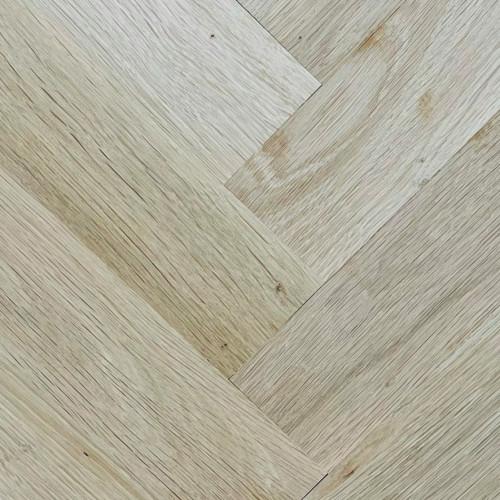 1m²: 22mm - Prime Grade Oak - Solid - Herringbone Block Flooring - Unfinished - Lefts & Rights - 22x70x350mm - (0.98m²/pk)