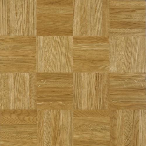 1m²: 8mm - Prime Grade Oak - Solid - Mosaic Mesh Backed Panel - Unfinished - 480x480mm - (2.995m²/pk)