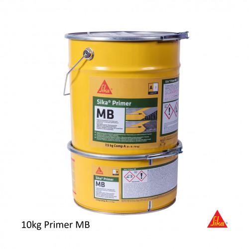 10Kg Tins: Sika - Primer MB - (Part A: 8kg UN3082 CL 9 PG III ADR - Part B: 3kg UN1760 CL 8 PG II)