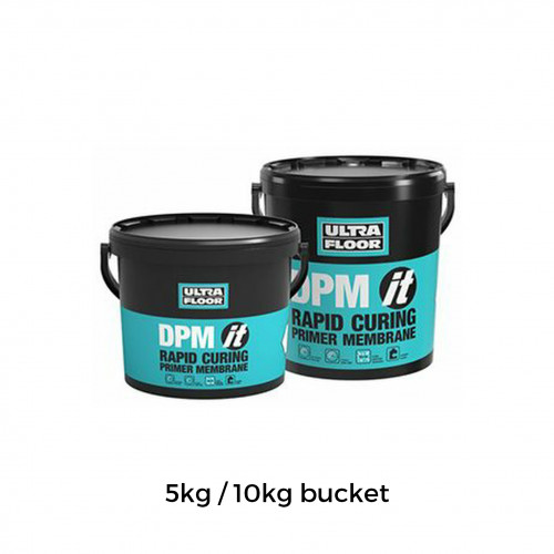 10Kg Tub: UltraFloor - DPM it - 2K Solvent Free Epoxy Resin System - for use as a surface primer and damp proof membrane