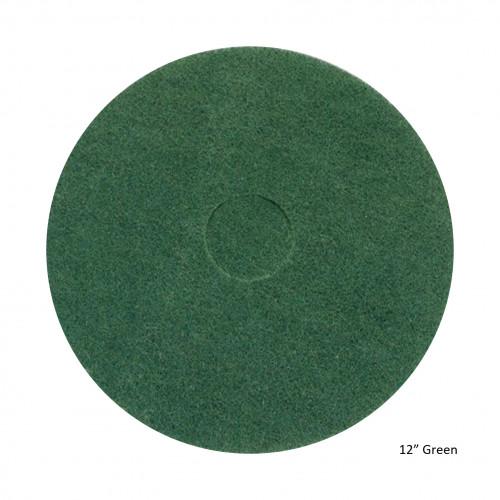"FS - Floor Pad - Green - 12"""