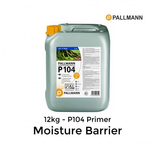 12kg Tub: Pallmann - P104 - 1K Polyurethane Primer Moisture Barrier