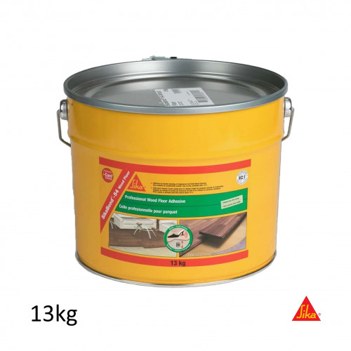 13Kg Tin: SikaBond 54 - Wood Floor Polyurethane Wood Flooring Adhesive - T54