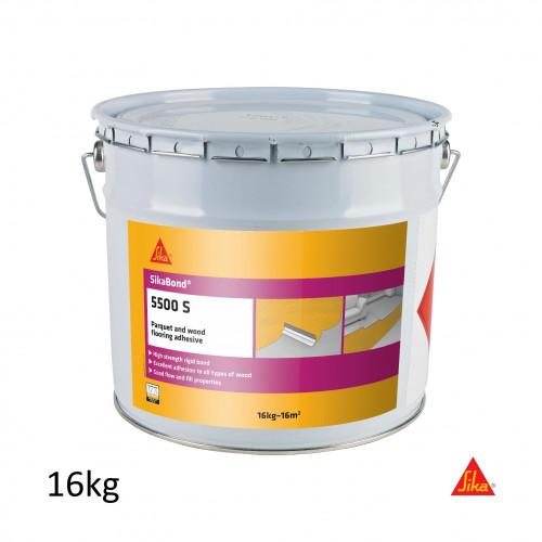 16Kg Tin: SikaBond 5500S Wood Flooring Adhesive **ADR - UN 1133 - CL3 PG II**