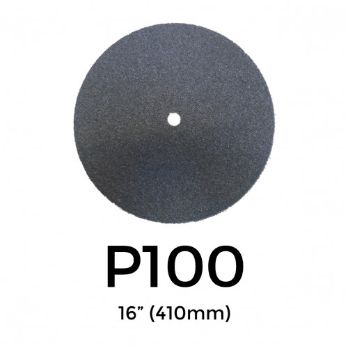 """P100 - Starcke - Silicon Carbide - Double Sided Sanding Discs - 400mm - 16"""""""