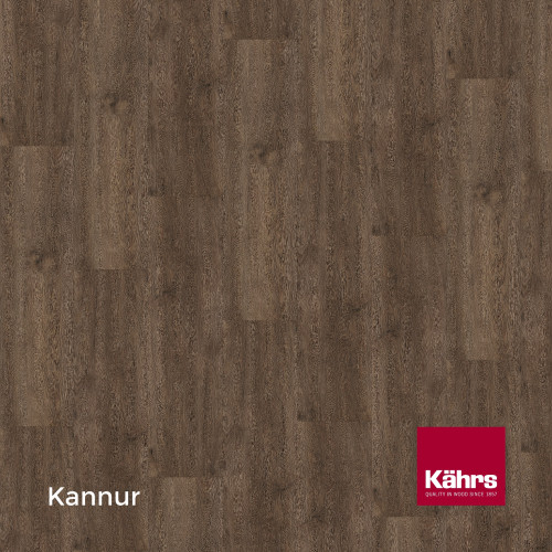 1m²: 5mm - Kahrs - Luxury Vinyl Tile - Wood Design - Rustic - Kannur C5 - 5G Click System - Ceramic Wear Resistant Layer - Rigid Core SPC + IXPE Sound Reducing Backing - 5/0.3x172x1210mm - (2