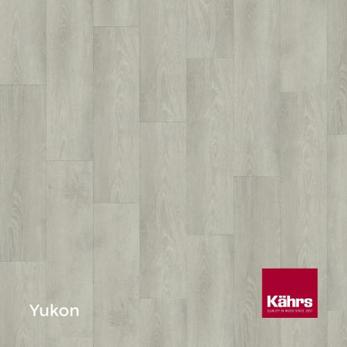 1m²: 6mm - Kahrs - Luxury Vinyl Tile - Wood Design - Monochrome - Yukon C6 - 5G Click System - Ceramic Wear Resistant Layer - Rigid Core SPC + IXPE Sound Reducing Backing - 6/0.55x218x1210mm
