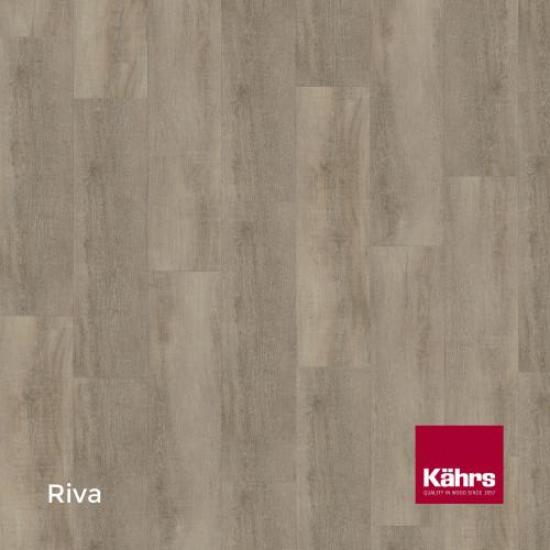 1m²: 6mm - Kahrs - Luxury Vinyl Tile - Wood Design - Monochrome - Riva C6 - 5G Click System - Ceramic Wear Resistant Layer - Rigid Core SPC + IXPE Sound Reducing Backing - 6/0.55x218x1210mm -