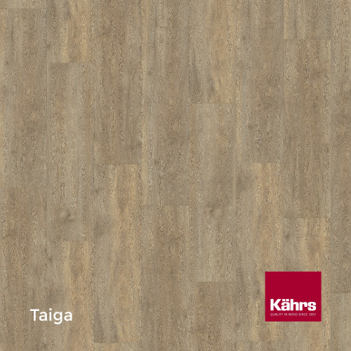 1m²: 6mm - Kahrs - Luxury Vinyl Tile - Wood Design - Traditional - Taiga C6 - 5G Click System - Ceramic Wear Resistant Layer - Rigid Core SPC + IXPE Sound Reducing Backing - 6/0.55x218x1210mm