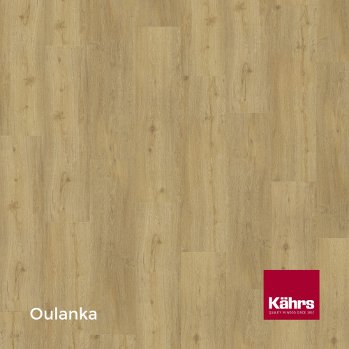 1m²: 6mm - Kahrs - Luxury Vinyl Tile - Wood Design - Traditional - Oulanka C6 - 5G Click System - Ceramic Wear Resistant Layer - Rigid Core SPC + IXPE Sound Reducing Backing - 6/0.55x218x1210