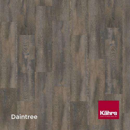 1m²: 6mm - Kahrs - Luxury Vinyl Tile - Wood Design - Rustic - Daintree C6 - 5G Click System - Ceramic Wear Resistant Layer - Rigid Core SPC + IXPE Sound Reducing Backing - 6/0.55x218x1210mm -