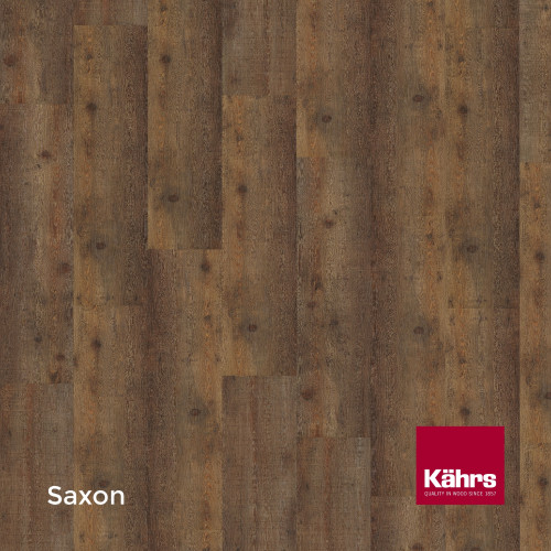 1m²: 6mm - Kahrs - Luxury Vinyl Tile - Wood Design - Rustic - Saxon C6 - 5G Click System - Ceramic Wear Resistant Layer - Rigid Core SPC + IXPE Sound Reducing Backing - 6/0.55x218x1210mm - (2