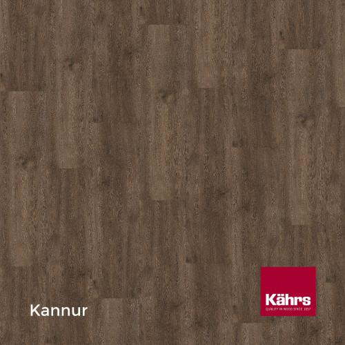 1m²: 6mm - Kahrs - Luxury Vinyl Tile - Wood Design - Rustic - Kannur C6 - 5G Click System - Ceramic Wear Resistant Layer - Rigid Core SPC + IXPE Sound Reducing Backing - 6/0.55x218x1210mm - (