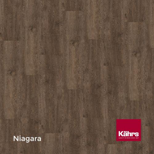 1m²: 6mm - Kahrs - Luxury Vinyl Tile - Wood Design - Rustic - Niagara C6 - 5G Click System - Ceramic Wear Resistant Layer - Rigid Core SPC + IXPE Sound Reducing Backing - 6/0.55x218x1210mm -