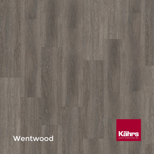 1m²: 6mm - Kahrs - Luxury Vinyl Tile - Wood Design - Elegant - Wentwood C6 - 5G Click System - Ceramic Wear Resistant Layer - Rigid Core SPC + IXPE Sound Reducing Backing - 6/0.55x218x1210mm