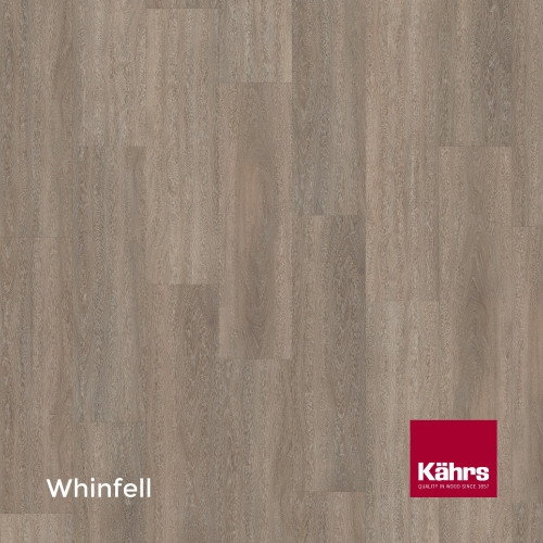 1m²: 6mm - Kahrs - Luxury Vinyl Tile - Wood Design - Elegant - Whinfell C6 - 5G Click System - Ceramic Wear Resistant Layer - Rigid Core SPC + IXPE Sound Reducing Backing - 6/0.55x218x1210mm
