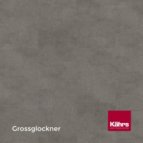 1m²: 6mm - Kahrs - Luxury Vinyl Tile - Stone Design - Impression XXL - Grossglockner CX - 5G Click System - Ceramic Wear Resistant Layer - Rigid Core SPC + IXPE Sound Reducing Backing - 6/0.5