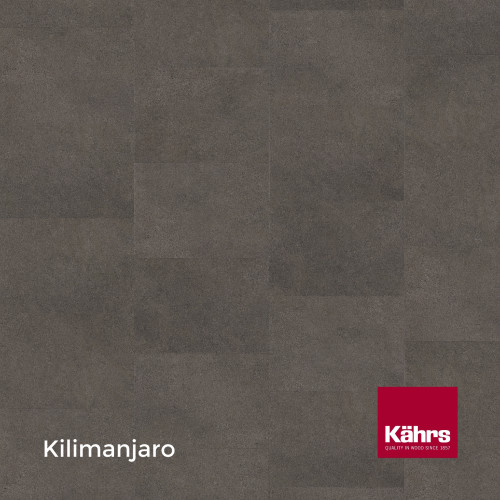 1m²: 6mm - Kahrs - Luxury Vinyl Tile - Stone Design - Impression XXL - Kilimanjaro CX - 5G Click System - Ceramic Wear Resistant Layer - Rigid Core SPC + IXPE Sound Reducing Backing - 6/0.55x