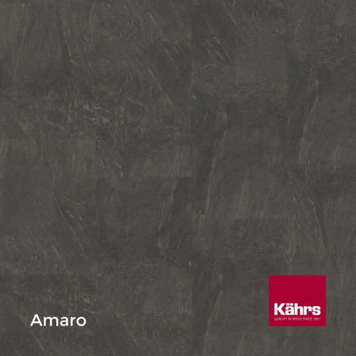 1m²: 6mm - Kahrs - Luxury Vinyl Tile - Stone Design - Impression XXL - Amaro CX - 5G Click System - Ceramic Wear resistant Layer - Rigid Core SPC + IXPE Sound Reducing Backing - 6/0.55x457x91