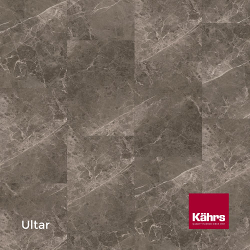 1m²: 6mm - Kahrs - Luxury Vinyl Tile - Stone Design - Impression XXL - Ultar CX - 5G Click System - Ceramic Wear resistant Layer - Rigid Core SPC + IXPE Sound Reducing Backing - 6/0.55x457x91