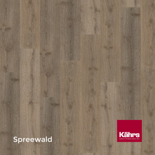1m²: 6mm - Kahrs - Luxury Vinyl Tile - Wood Design - Impression XXL - Spreewald CX - 5G Click System - Ceramic Wear Resistant Layer - Rigid Core SPC + IXPE Sound Reducing Backing - 6/0.55x220