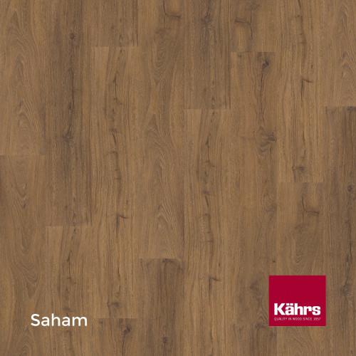 1m²: 6mm - Kahrs - Luxury Vinyl Tile - Wood Design - Impression XXL - Saham CX - 5G Click System - Ceramic Wear Resistant Layer - Rigid Core SPC + IXPE Sound Reducing Backing - 6/0.55x220x182