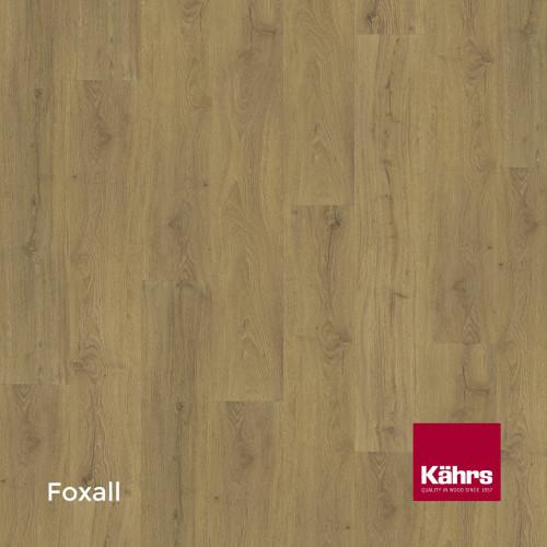 1m²: 6mm - Kahrs - Luxury Vinyl Tile - Wood Design - Impression XXL - Foxall CX - 5G Click System - Ceramic Wear Resistant Layer - Rigid Core SPC + IXPE Sound Reducing Backing - 6/0.55x220x18