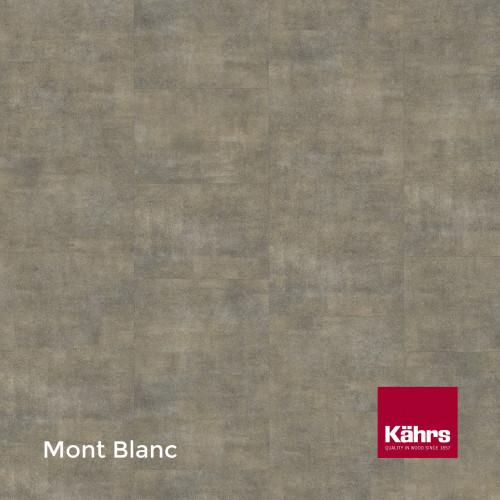 1m²: 2.5mm - Kahrs - Luxury Vinyl Tile - Stone Design - Brilliant - Mont Blanc - Dry Back System - Ceramic Wear Resistant Layer - 2.5/0.55x457x457mm - (5.01m²/pk)