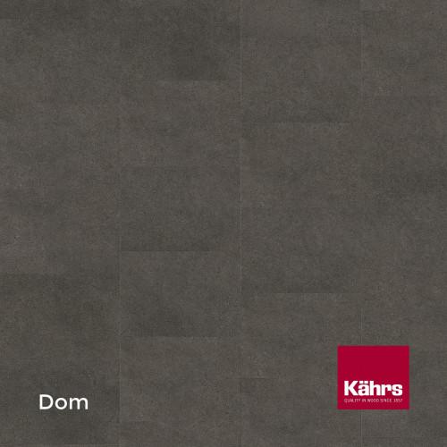 1m²: 2.5mm - Kahrs - Luxury Vinyl Tile - Stone Design - Common - Dom - Dry Back System - Ceramic Wear Resistant Layer - 2.5/0.55x457x457mm - (5.01m²/pk)