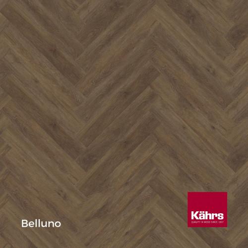 1m²: 5mm - Kahrs - Luxury Vinyl Tile - Wood Herringbone Design - Traditional - Belluno - Rights - C5i Click System - Ceramic Wear Resistant Layer - Rigid Core SPC + IXPE Sound Reducing Backin