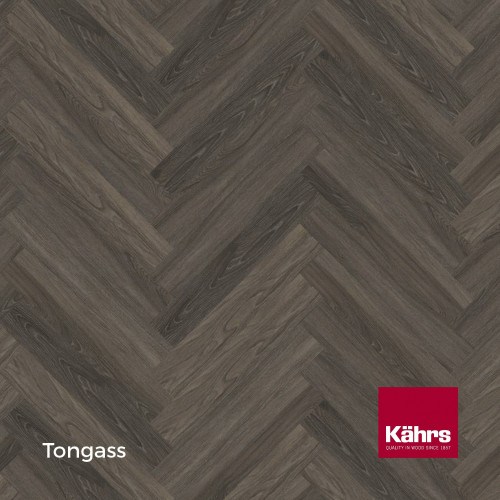 1m²: 5mm - Kahrs - Luxury Vinyl Tile - Wood Herringbone Design - Traditional - Tongass - Rights - C5i Click System - Ceramic Wear Resistant Layer - Rigid Core SPC + IXPE Sound Reducing Backin