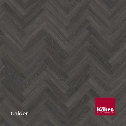 1m²: 5mm - Kahrs - Luxury Vinyl Tile - Wood Herringbone Design - Traditional - Calder - Rights - C5i Click System - Ceramic Wear Resistant Layer - Rigid Core SPC + IXPE Sound Reducing Backing
