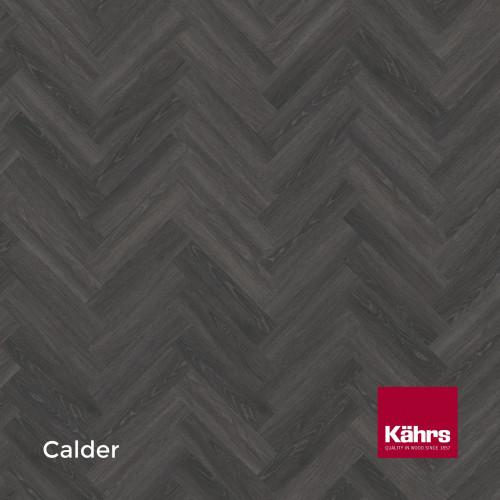 1m²: 2.5mm - Kahrs - Luxury Vinyl Tile - Wood Design - Calder Herringbone - HBD Dryback System - Ceramic Wear Resistant Layer - 2.5/0.7x102x457mm - (2.78m²/pk)