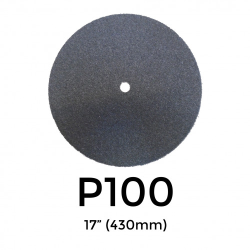 """P100 - Starcke - Silicon Carbide - Double Sided Sanding Discs - 430mm - 17"""""""