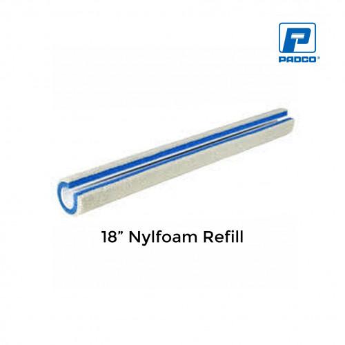 "Padco - Refill Sleeve - Nylfoam - Blue - 18"""
