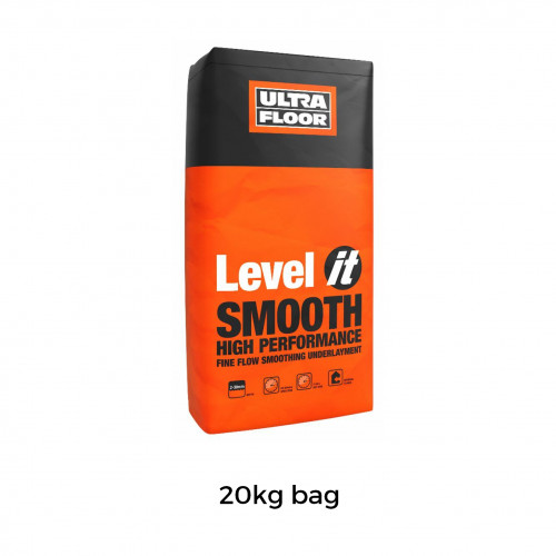 20kg Bag: Level It Smooth - Single Part High Performance Fine Flow Smoothing Underlayment