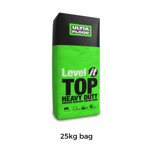 25kg Bag: Level It - Top - Single Part Heavy Duty Finishing Levelling Compound