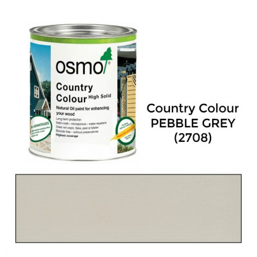 2.5ltr: Osmo - Country Colour - Pebble Grey - (2708D)