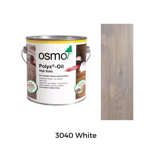 0.75ltr: Osmo - Polyx Oil - Tints - White - (3040C)