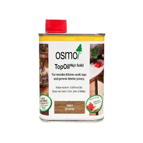 0.5ltr: Osmo - Top Oil - Acacia Matt - food safe worktop finish - (3061)