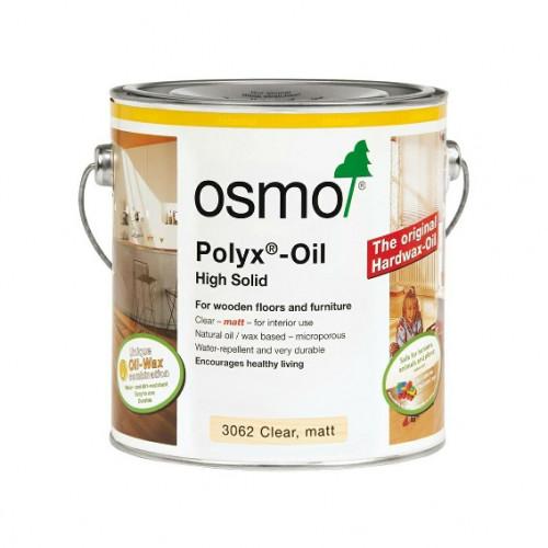 0.75ltr: Osmo - Polyx Oil - Original - Clear Matt - (3062C)