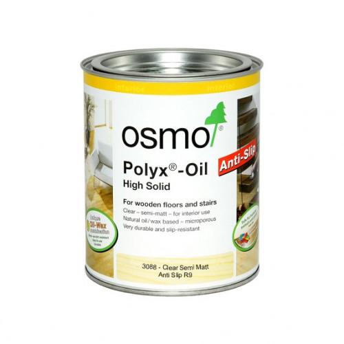 2.5ltr: Osmo - Polyx Oil - R9 Anti Slip - SemiMatt - (3088D)