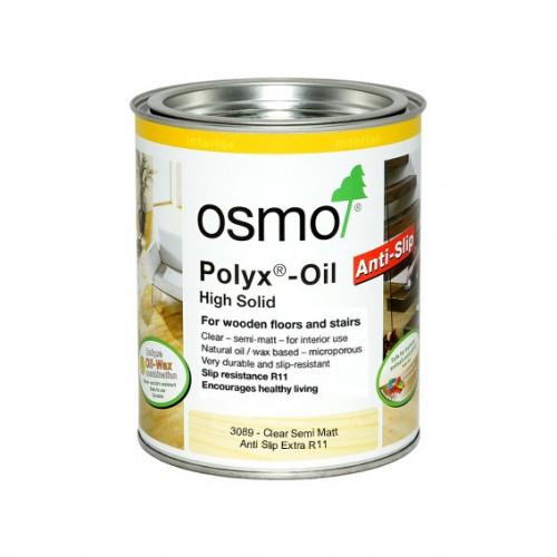 2.5ltr: Osmo - Polyx Oil - R11 Anti Slip Extra - SemiMatt - (3089D)