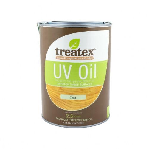 2.5ltr: Treatex - Specialist Exterior Finishes - UV Oil - (31000h)