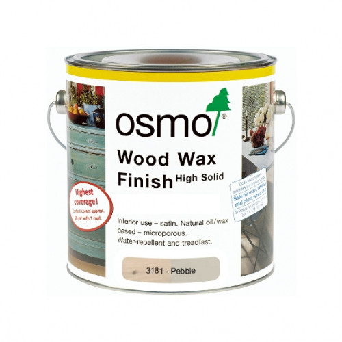 2.5ltr: Osmo - Wood Wax Finish Intensive Colour - Pebble - (3181D)
