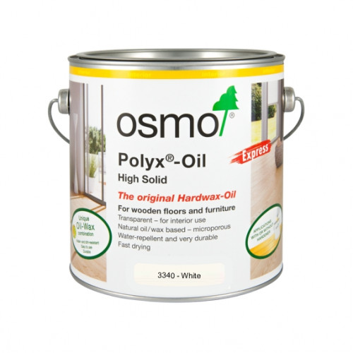 0.75ltr: Osmo - Polyx Oil - Express - White - (3340C)