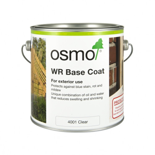 0.75ltr: Osmo - WR Base Coat - Clear (4001C)